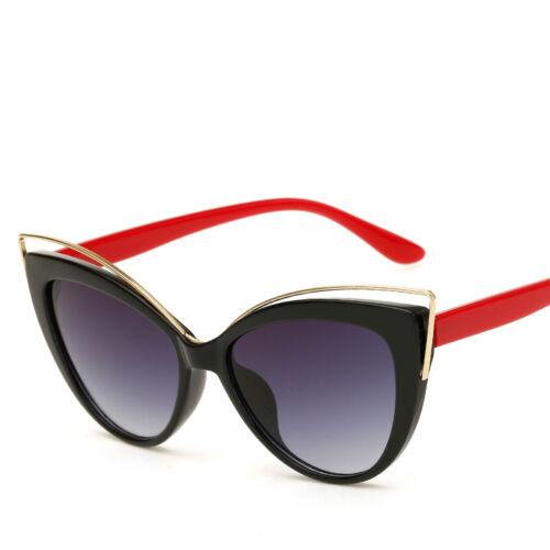 Vintage Retro Cat Eye Sunglasses Womens Fashion Eyewear Shades Eye Glasses UK