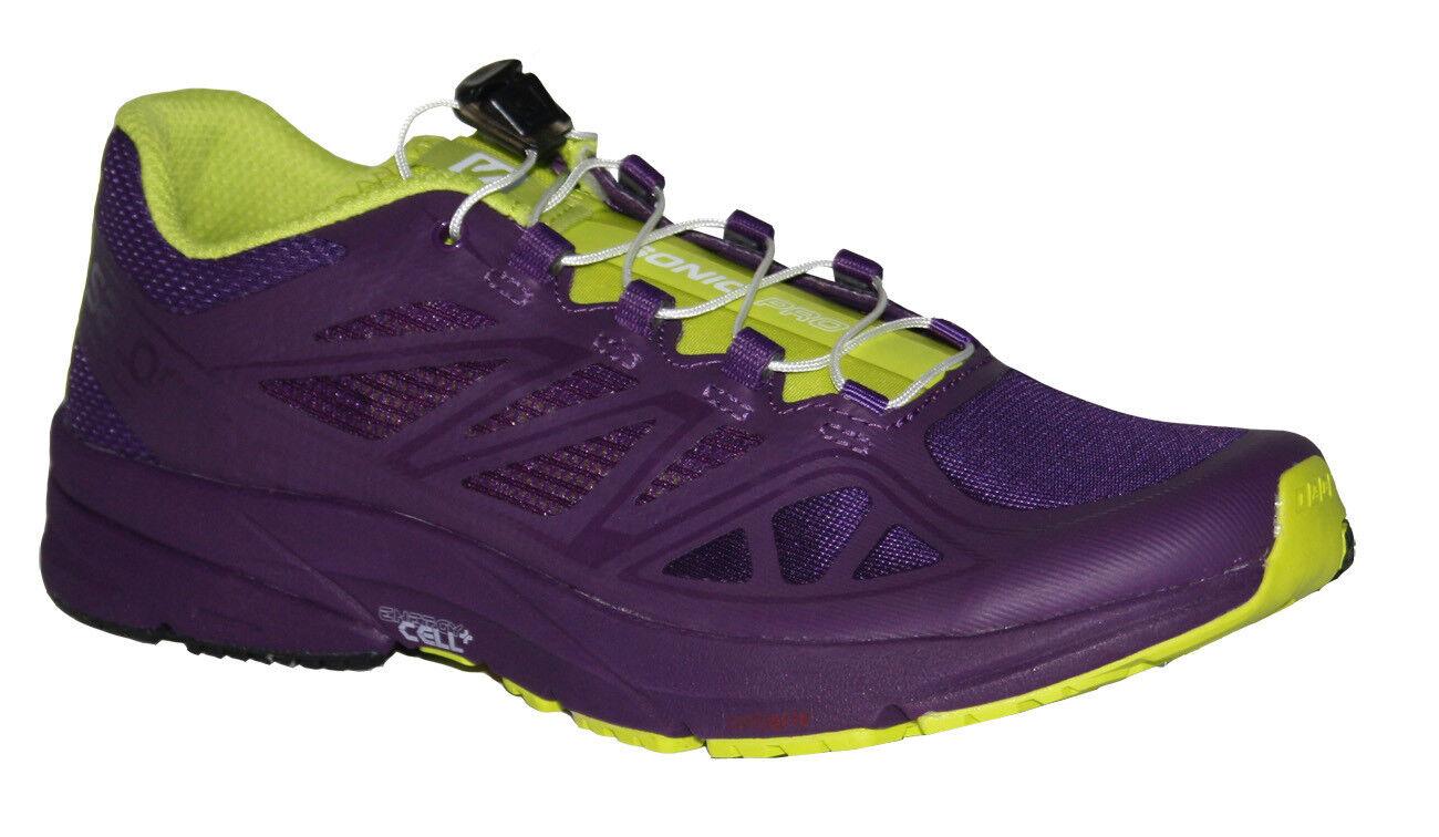 Salomon Sonic Pro Damen Leichtlaufschuhe lila Sportschuhe Laufschuhe Turnschuhe  | Qualität Produkte