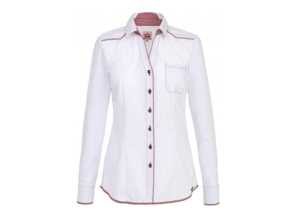 Spieth & Wensky - Damen Trachten Blause in weiß,  (290210-0975 )Flip-Bl Da