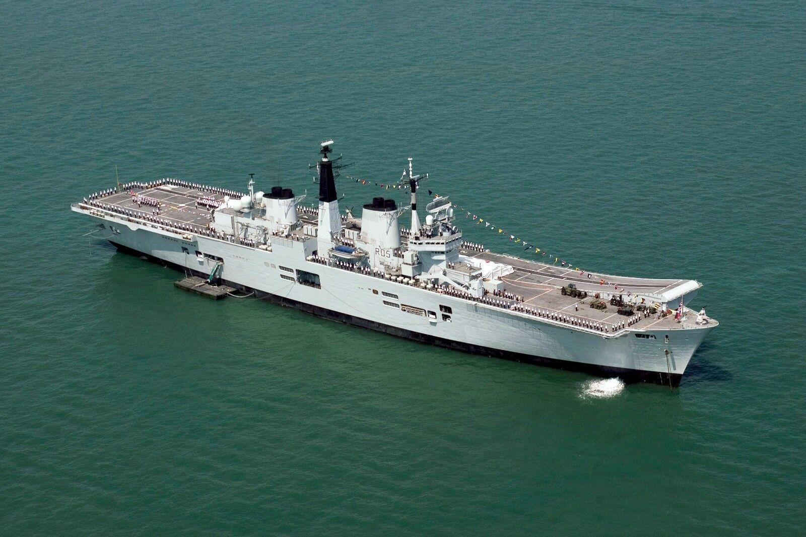 Aircraft Carrier HMS Invincible Photo Print
