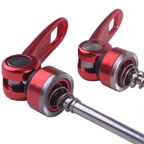 1Pair Bicycle Skewers Ultralight Quick Release Skewers for MTB Road Bike 4 Color