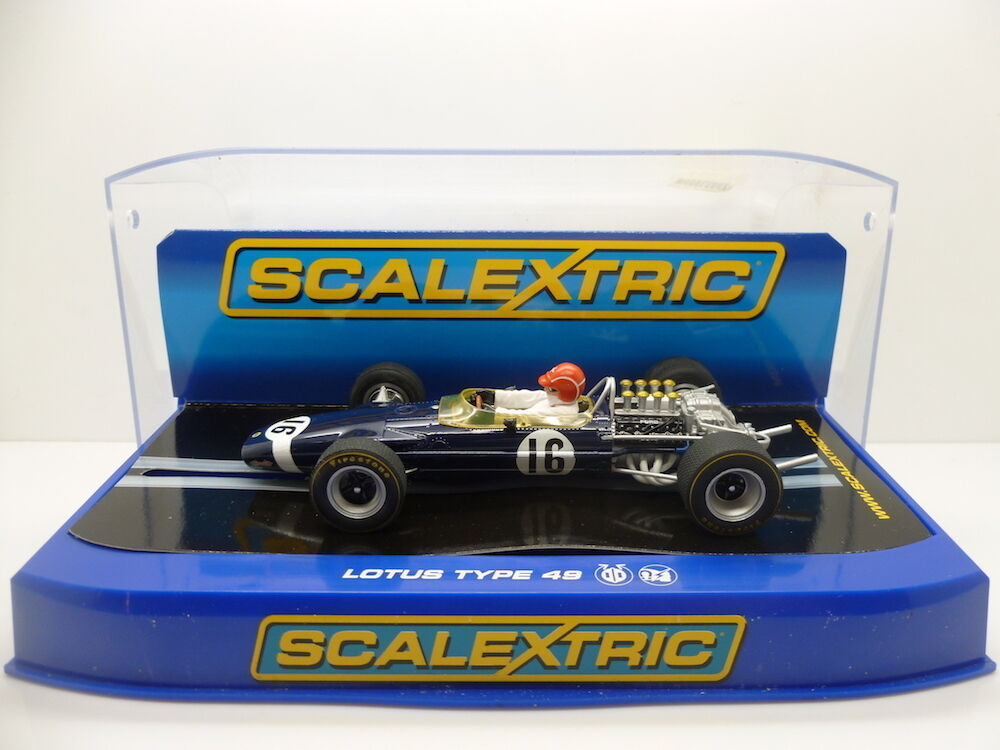 Scalextric C3092 Team Lotus 49 Jo Siffert No.16, mint boxed unused