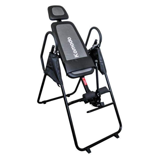 Komodo Foldable Premium Gravity Inversion Table Back Therapy Fitness Reflexology