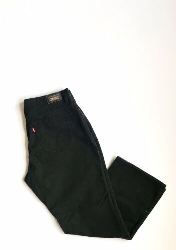 Taille Coton Relaxed Vtg Leg Levi's Jeans 16 550 Court Noir Tighted Coupe 100 vwUXFB