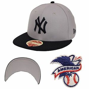 fce6cd3fc3654 New Era 59Fifty Wool Standard New York Yankees Gray Navy Fitted ...