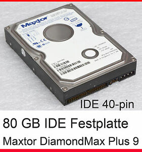 VELOCE-80-GB-IDE-Disco-rigido-hdd-maxtor-diamante-PLUS-9-3-5-034-8-89-cm