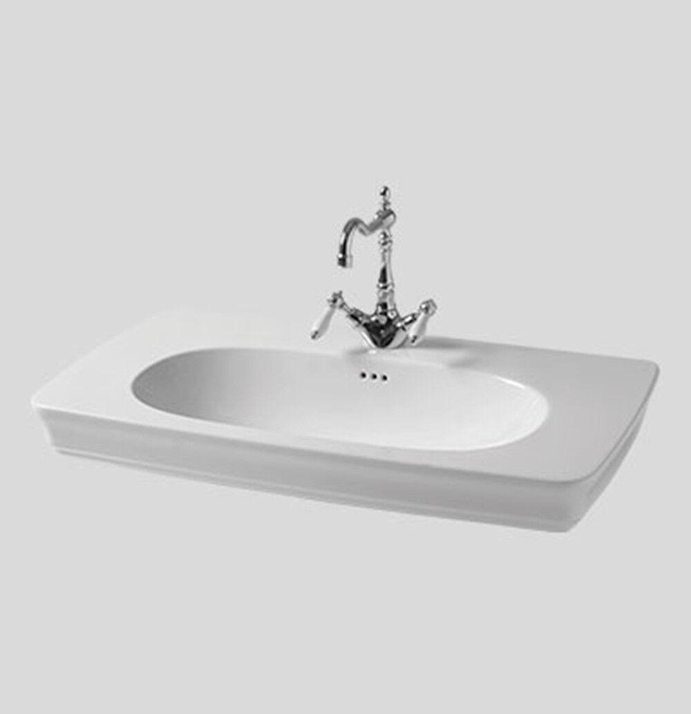 Lavandino Lavabo Bagno Sospeso modello Civitas 68 cm - in vari Couleuri