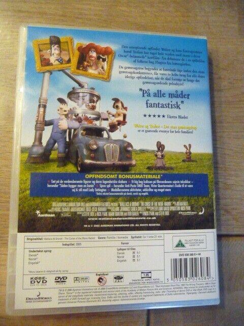 Walter & Trofast Det store Grøntsagskup, DVD, familiefilm