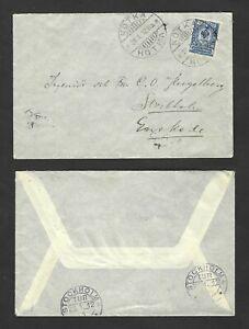 Early-cover-24-Dec-1911-Kotka-Finland-to-Stockholm-Sweden-Stockholm-backstamps