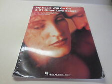 My Heart Will Go on 21 Other Love Songs Piano Sheet Music Guitar