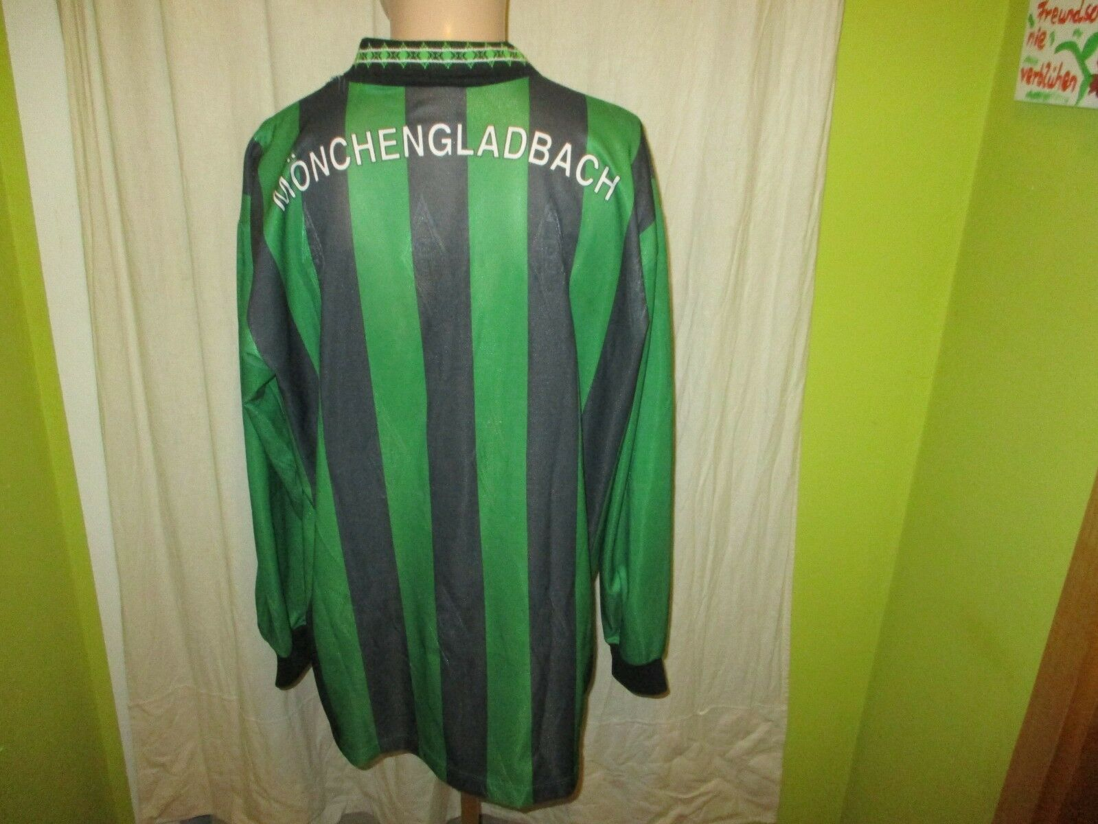 Borussia Mönchengladbach Original Original Original Reebok Langarm Trikot 1995/96