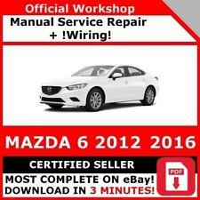mazda 6 workshop manual diesel