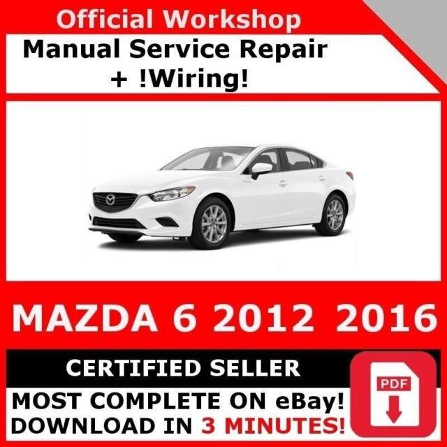 mazda 3 service manual 2016