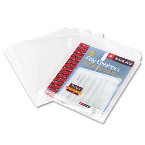 """Jacket Clr Expansion /""""Smd TopLoad Envelopes w1 14 In 5 Pack/"""" Poly Letter"""