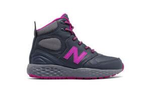 New-Balance-Kid-039-s-KLPXBGPP-Fresh-Foam-Paradox-Sneaker-Boot-Dark-Grey-Azalea