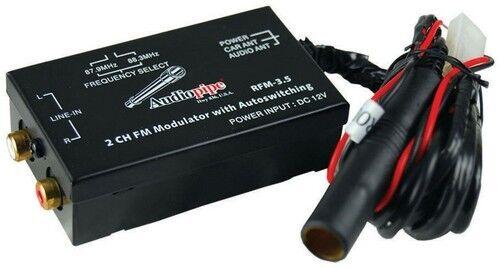 Audiopipe RFM35 Nippon 2Ch Fm Modulator 3.5mm Input