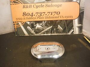 Harley Davidson Sportster Air Box Breather Cleaner Cover Panel