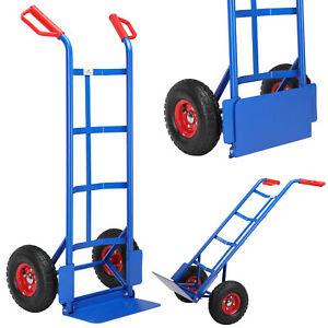 Sackkarre Stapelkarre Transportkarre klappbar 200kg Treppenkarre Treppensteiger
