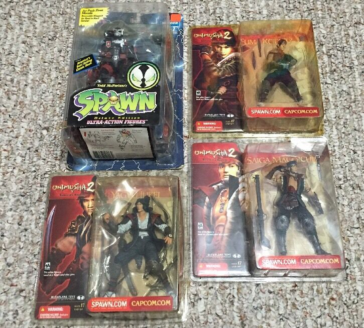 SPAWN 4 Pc. Lot Of Various Spawn Series Action Figures NIP Some Rare
