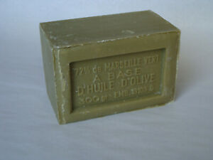 French-Marius-Fabre-Marseille-Soap-300g-Oblong-Shaped-Soap-Olive