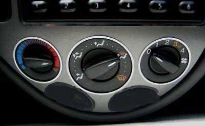 D Ford Focus MK1 Chrom Rahmen Blende für den Tacho Edelstahl poliert