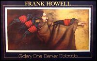 Frank Howell Poster lakota Messenger Out Of Print Art Mint Condition Makeoffer