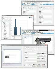 Gun Firearm Rifle Tracking Serial Number Value Inventory Database Software CD