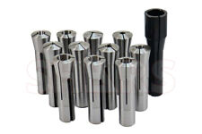 Shars 18 34 And 1 R8 12 Pc Collet 0006 Tir Set For Bridgeport New A