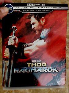 THOR-RAGNAROK-U-S-EXCLUSIVE-4K-Ultra-HD-Blu-ray-2017-OOP-HARD-TO-FIND