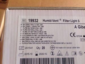 Teleflex Humid Vent Filter Light S Bacterial Viral Ref