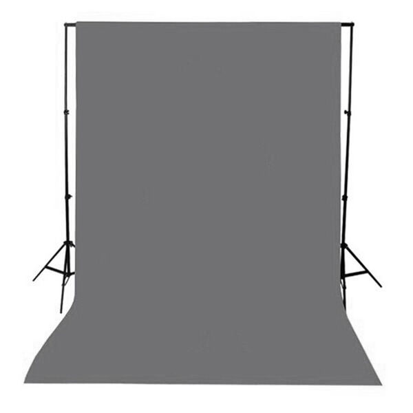 1.5x3m/5x10ft Grey Photography Backdrop Brackground Cloth Non-woven Fabric