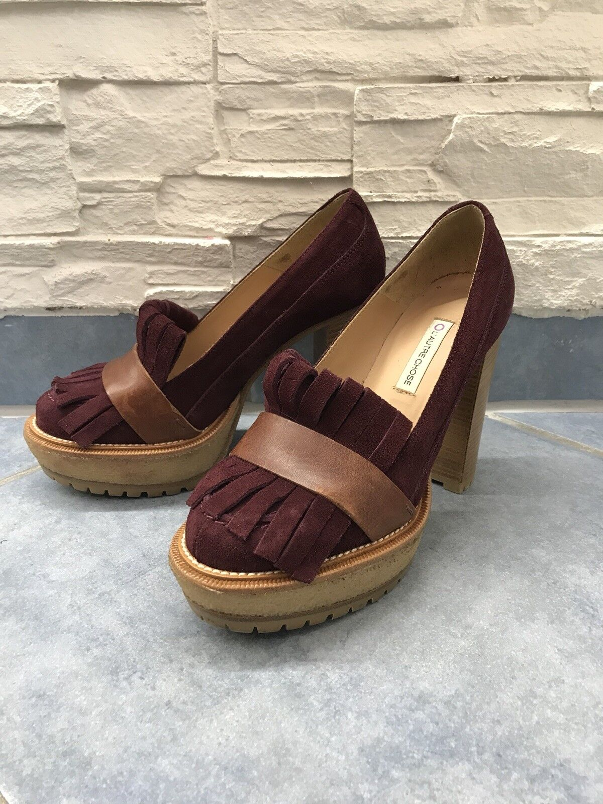 Damen Schuhe Pumps High Heels L'Autre L'Autre L'Autre Chose Größe 38 8e80f6