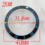 40mm-Red-Black-Blue-Green-Ceramic-Titanium-bezel-insert-fit-GMT-automatic-watch thumbnail 21
