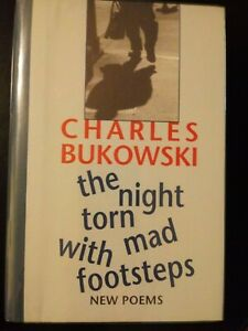 The-Night-Torn-Mad-With-Footsteps-Charles-Bukowski-1st-Ed-301-500-with-Print
