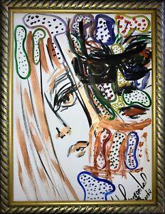 Margarita-Bonke-Malerei-PAINTING-art-Bild-Paar-Liebe-akt-abstract-Aquarell-Kunst