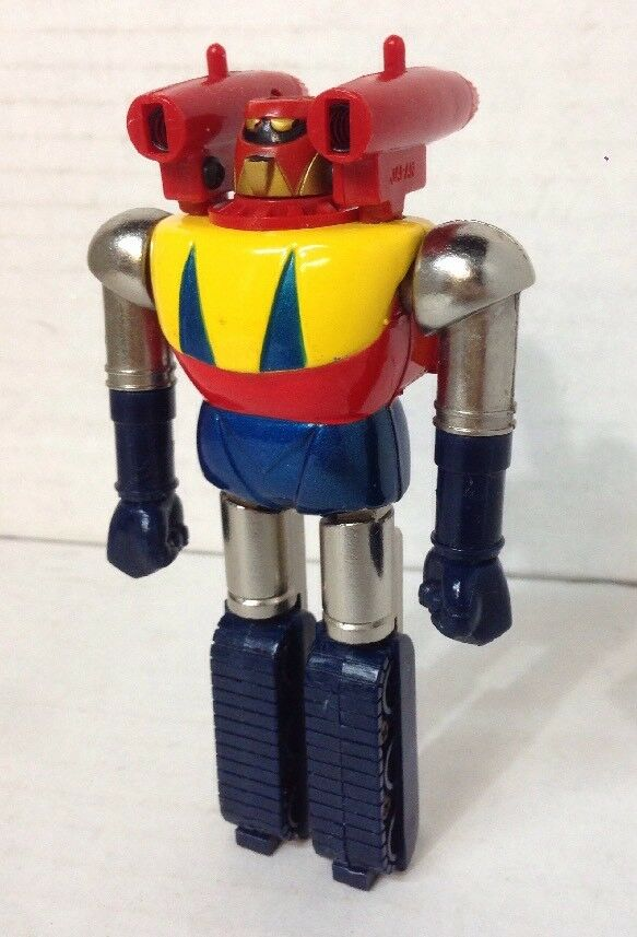 1970s  5  SHOGUN WARRIOR METAL DIECAST TRANSFORMER JAPAN TOY ROBOT Rocket