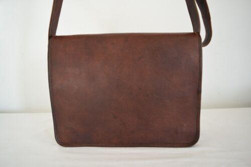 Vintage Leather Messenger Bag 13 Inch MacBook Pro//Air Crossbody Shoulder Bag