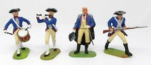 Vintage-Elastolin-Seven-Years-War-70mm-Toy-Soldiers-9162-9154-9151-9155