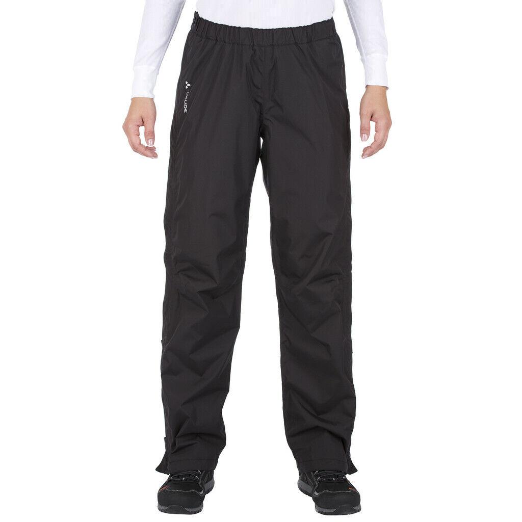 VAUDE Fluid Full-Zip Pants Damen black 2019 Fahrradhose schwarz