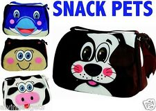 Snack Pets Fun Freezable Insulated Lunch Bag(Dolphin)
