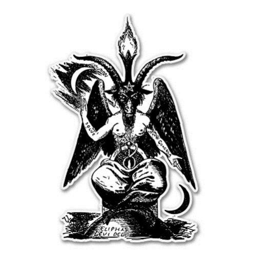 SELECT SIZE Baphomet Lucifer Car Laptop Phone Vinyl Sticker