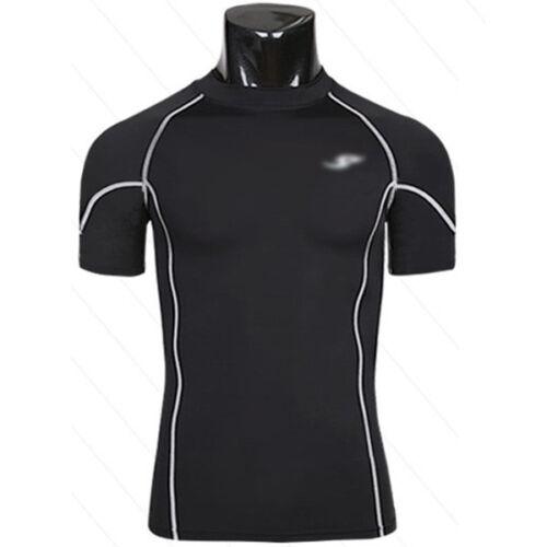 Mens Compression Fitness Under Base Layer Tights Tops T-shirt Skin Shorts Pants
