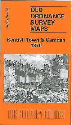 (Good)-Kentish Town and Camden 1870: London Sheet 038.1 (Old Ordnance Survey Map