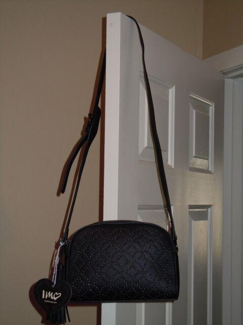 IMOSHION Black Purse Handbag Shoulder Bag NEW   eBay f92797824f