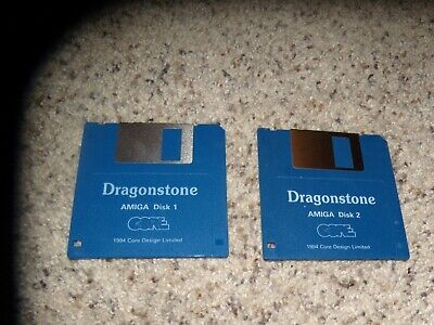 """Strong-Willed Dragonstone Commodore Amiga Game On 3.5"""" Disks Latest Technology Other Computer Software"""