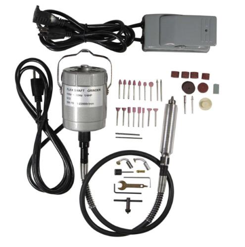 "Flexible Shaft Grinder Chuck Pedal Foot Switch Dremel 4000-Foredom TX-1//8/"" Tools"