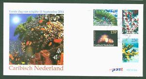 Caribisch-Nederland-Niederlande-2011-Korallen-Corals-Coraux-Nr-12-15-FDC