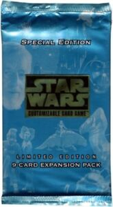 Star Wars CCG Limited BB Special Edition Booster Factory Sealed 1 pack