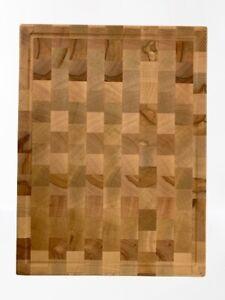 Tagliere da cucina in legno di faggio 395x295mm grande artigianale made in Italy