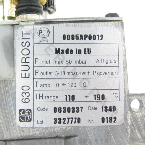 EUROSIT 0.630.337 GAS VALVE FRYER CONTROL THERMOSTAT ANGELO PO ALBA BARON DESCO